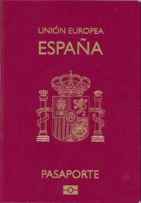 coperta pasaport spaniol