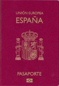 pasaporte español Union Europea